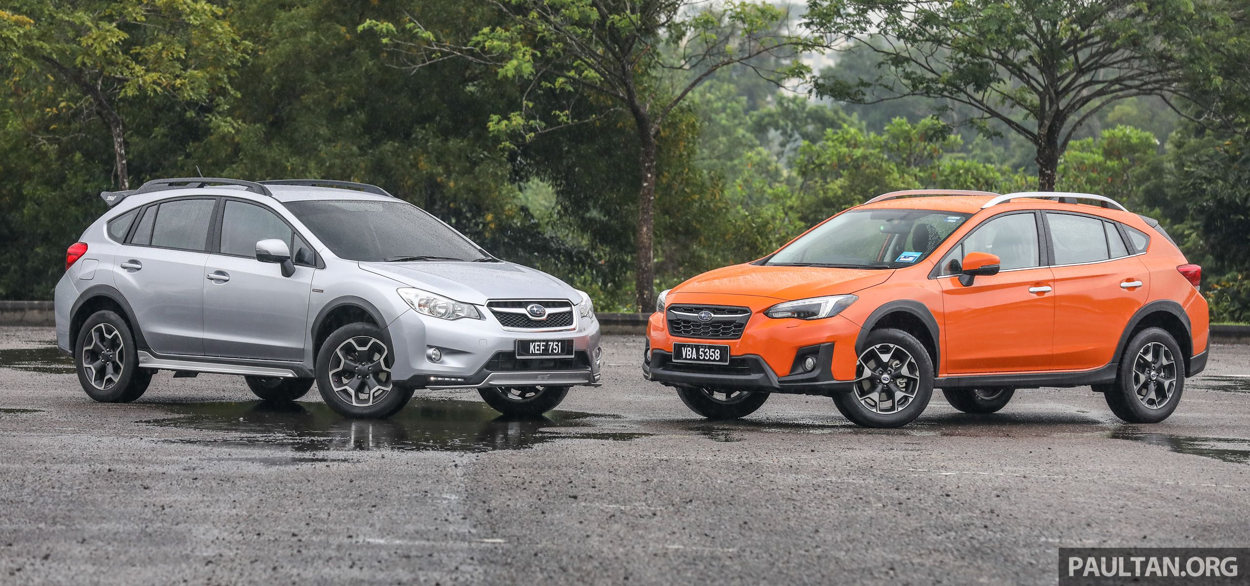 Gallery 2018 Subaru Xv 2 0i P Vs Old 2017 Sti The