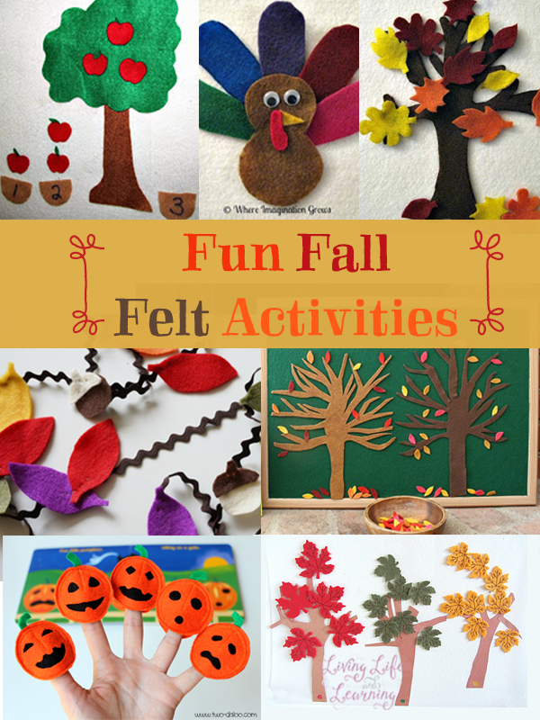 frugal craft ideas fall felt activities frugal activities 2057
