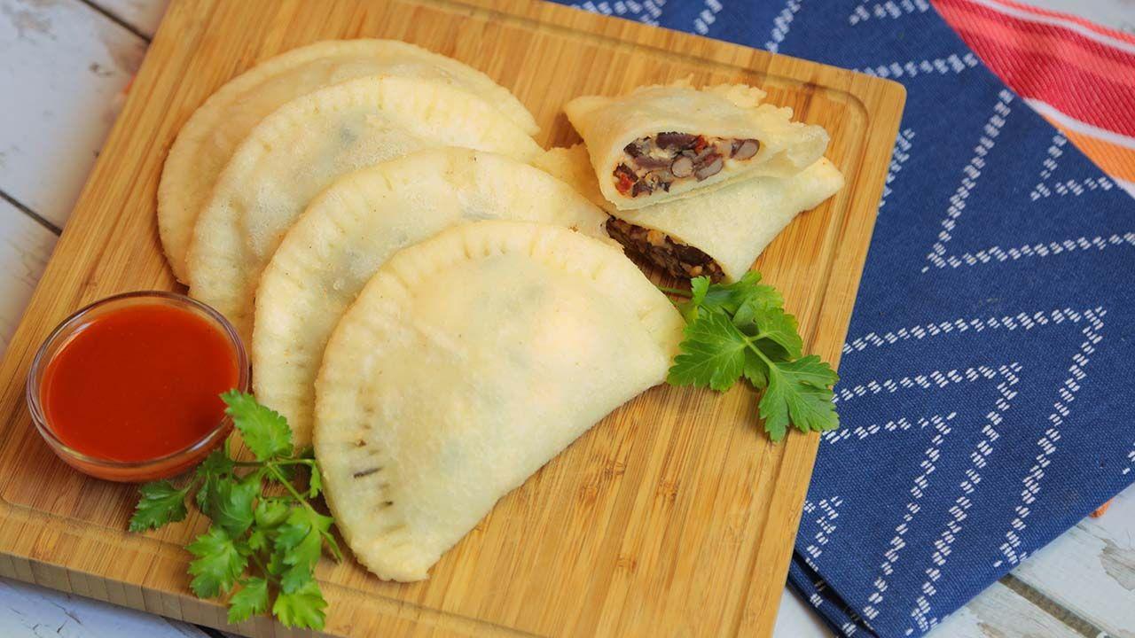 Spicy Black Bean Empanadas Recipe The Domestic Geek