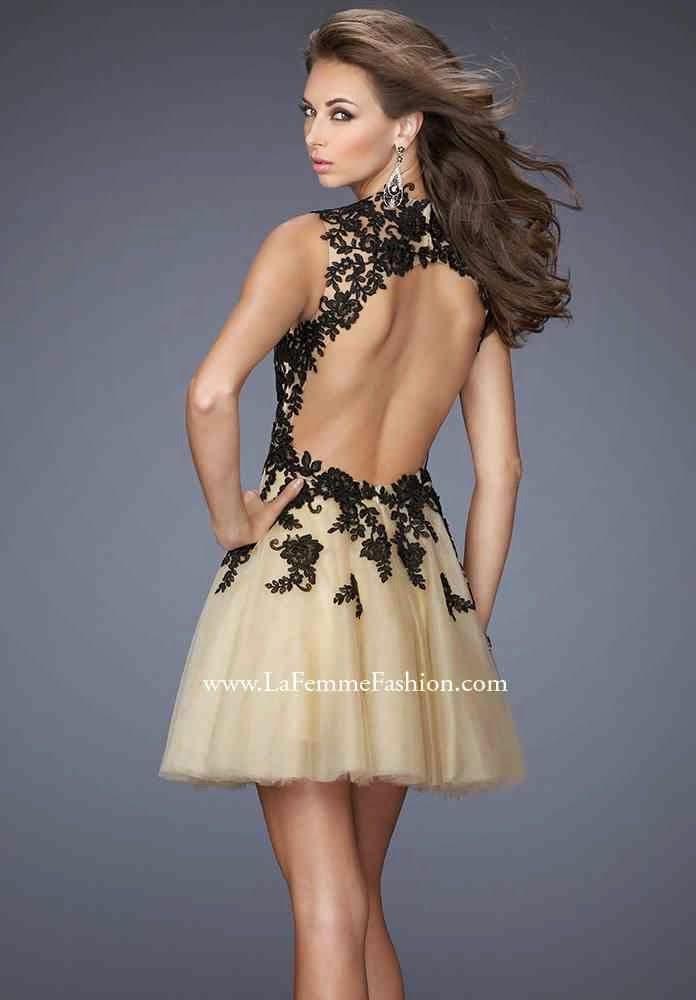 Vestidos cortos a la moda para fiesta