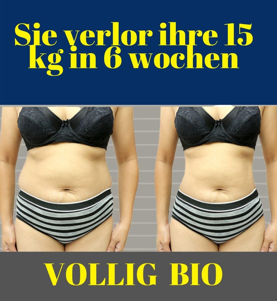 5 kilo in 6 monaten gesund abnehmen