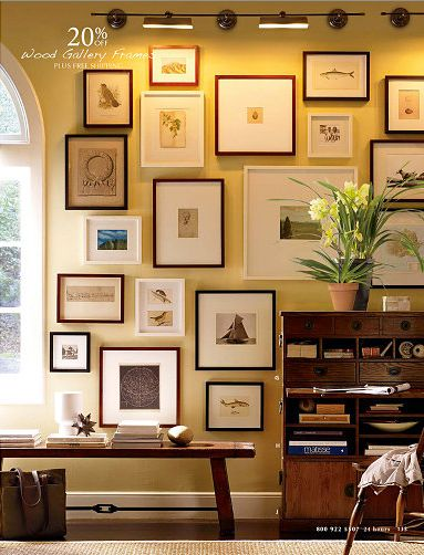 Dining Room Inspiration Gallery Wall