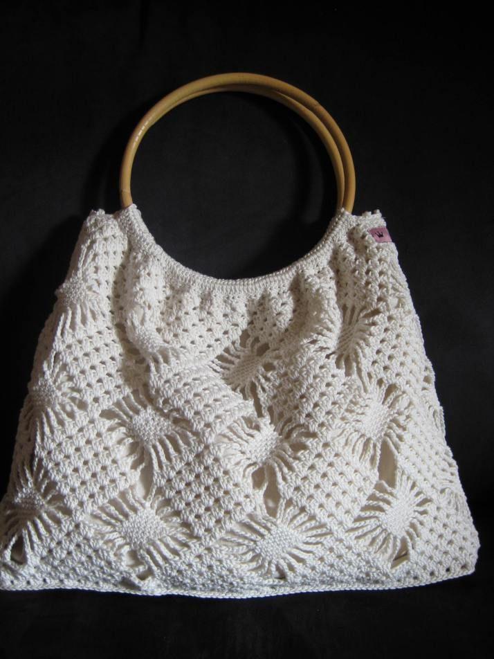 Endlich fertig!   Gehäkelte Taschen - Crochet Bags   Pinterest ...