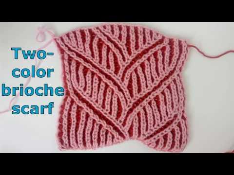 Brioche knitting *Big braid* knitting patterns - YouTube ...