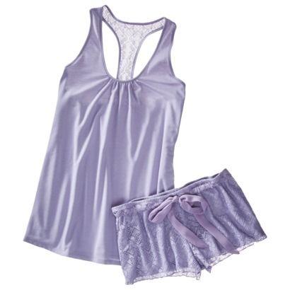 ab0e52361385 Super cute pajama set...love the lace shorts!