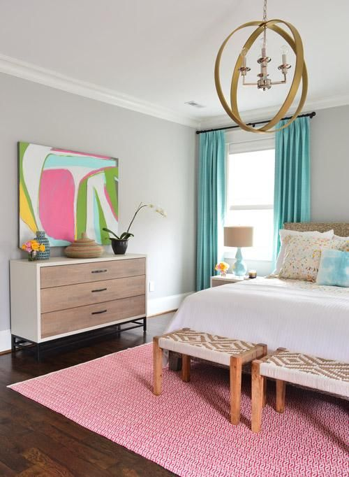 Business, Bedding, & Butlering | Rug features, Blue palette and ...
