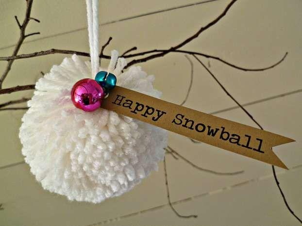 Pon pon di natale decorazioni natalizie fatte in casa for Ornamenti casa