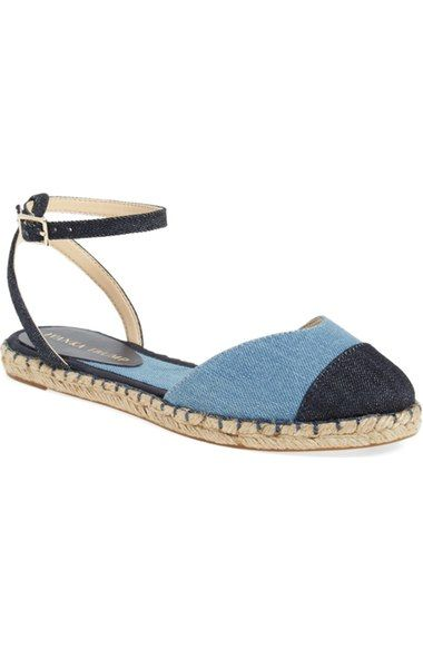 591e9369ef2 Ivanka Trump 'Rion' Ankle Strap Espadrille Flat (Women) available at ...