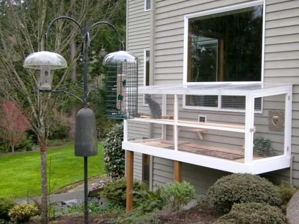 Build A Window Catio So Your Cat Can Sit Outside Safely Find Your