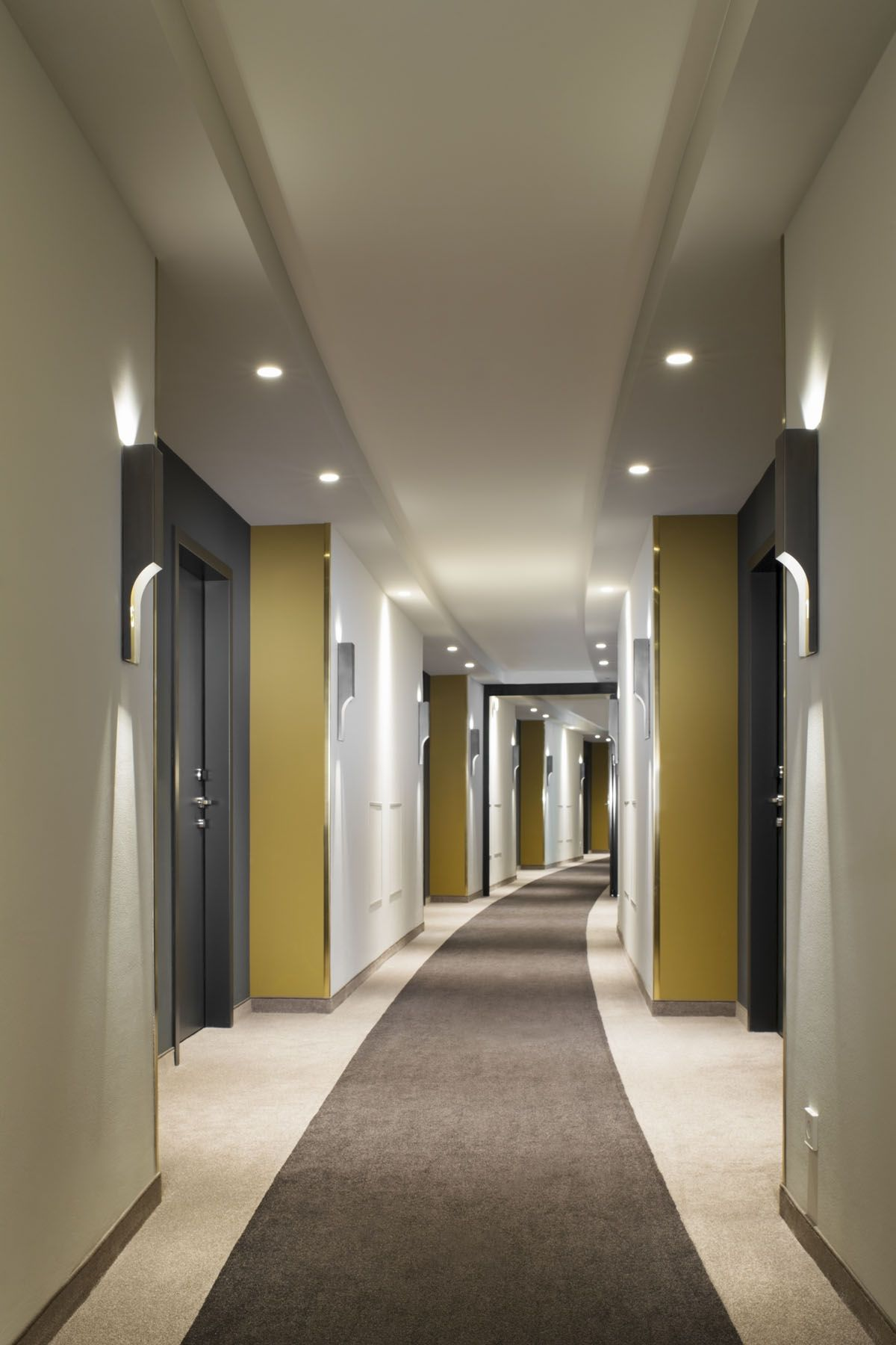 Interior Hotel Corridor Design