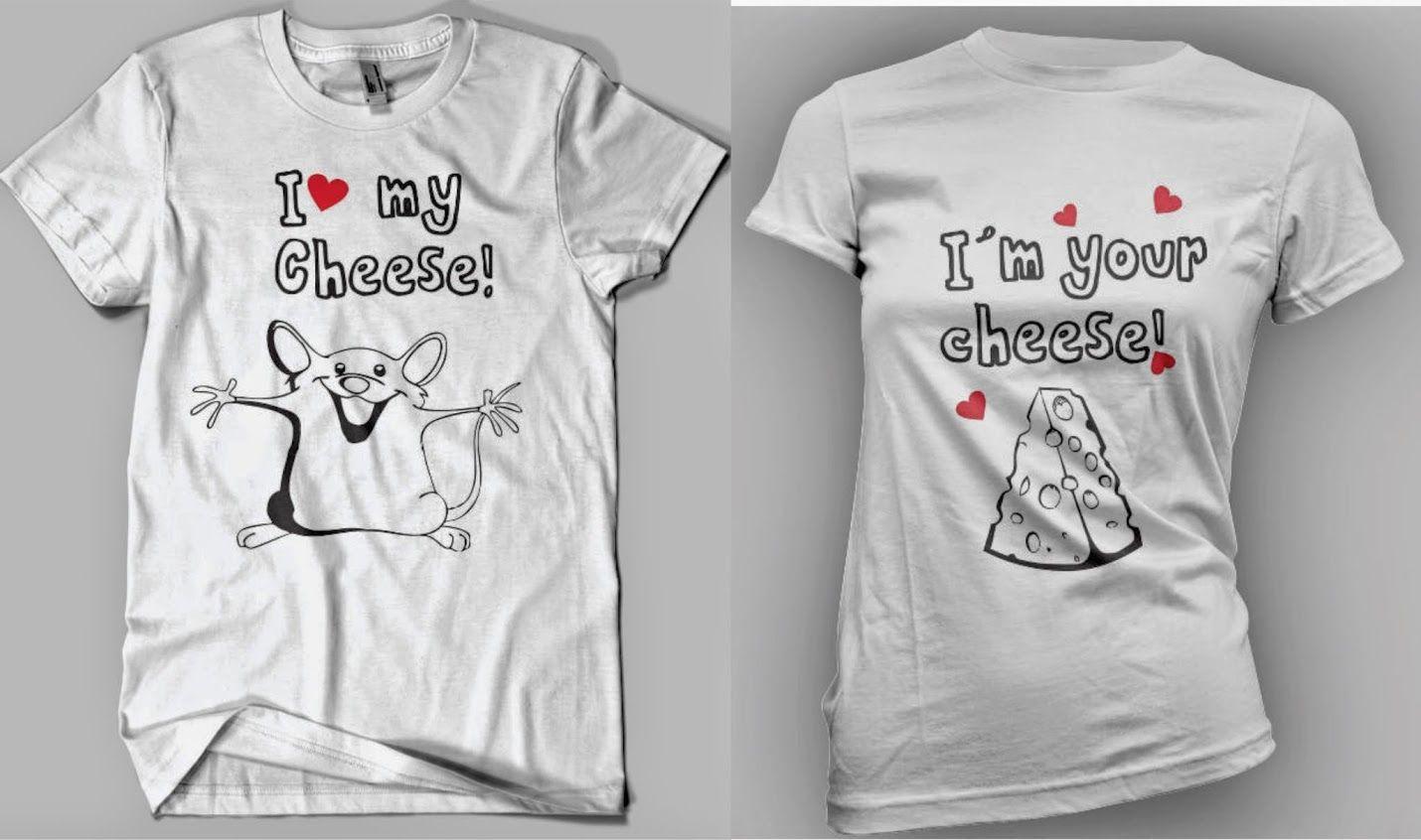 Camisetas Personalizadas Para Parejas a   120.Ropa 1234eb24411d4