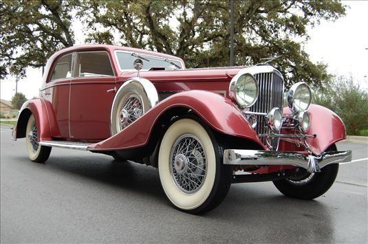 1933 Duesenberg Model J Queen Of Diamonds Franay Sports Berline