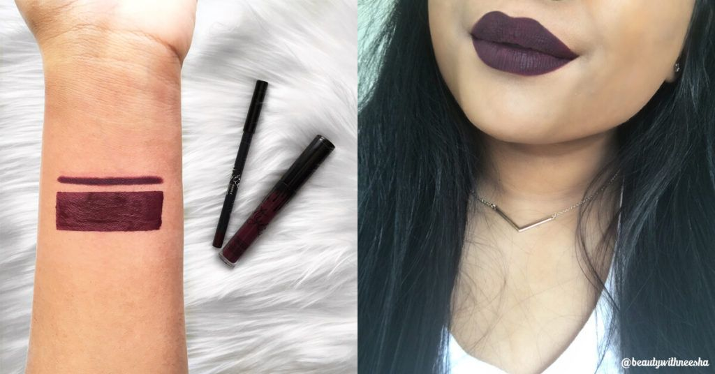 Assez Review and Swatch - Kylie Cosmetics Matte Lipsticks | Kylie  JS71