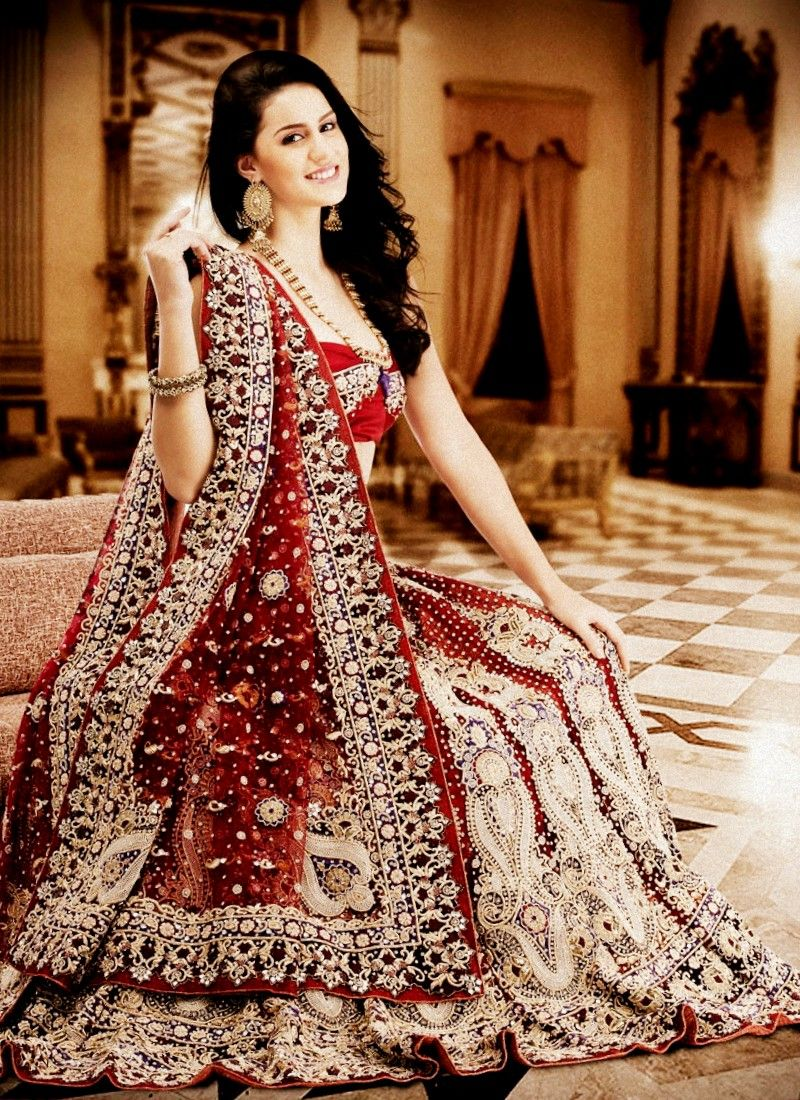 falling in love with indian wedding dresses | indian