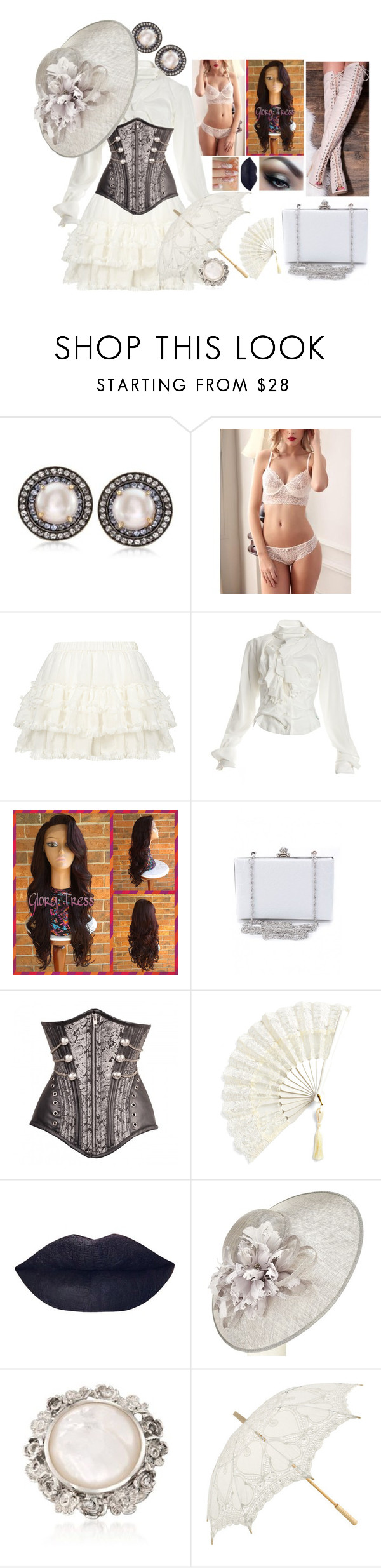 """""""Untitled #999"""" by darkestofgrace ❤ liked on Polyvore featuring Ross-Simons, Vivienne Westwood and John Lewis"""