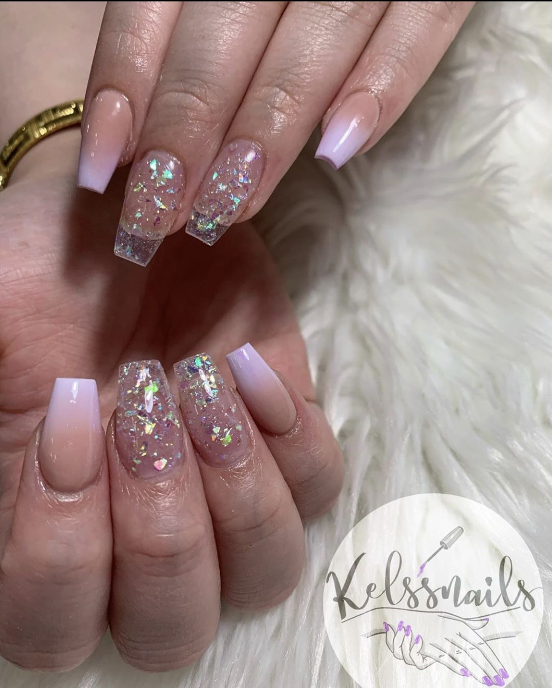 #glitter #nails #pink #nailart #nailtech