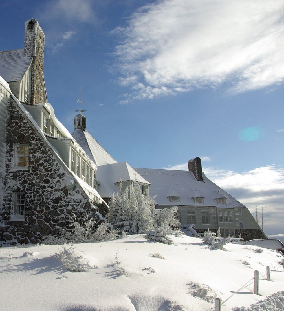 Oregon's Timberline Lodge stood in for The Shining's