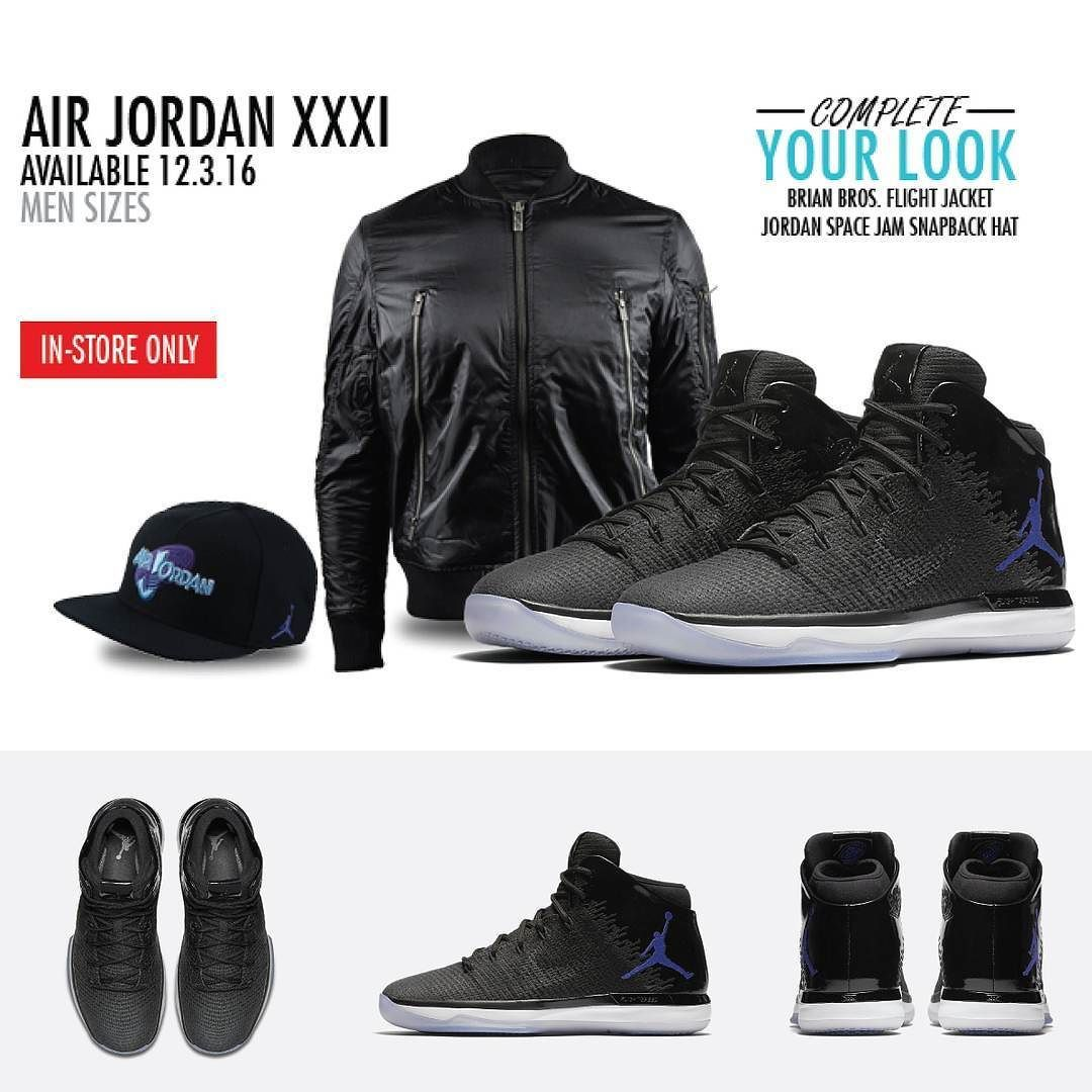 Air Jordan XXXI is now available in stores. Mens and Grade School sizes. #spznelite