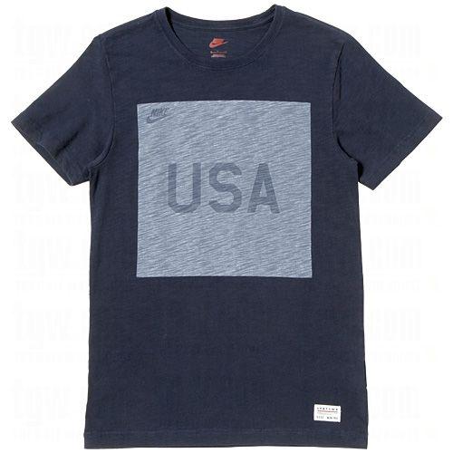 3059201c3f46 NIKE Mens USA Covert Fashion Crew T-Shirt  NIKE  Soccer  USA  Fashion   SoccerSavings.com