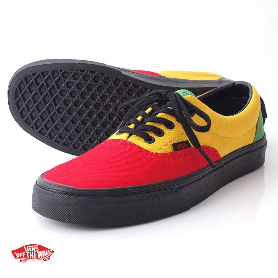 zapatos vans rastafari