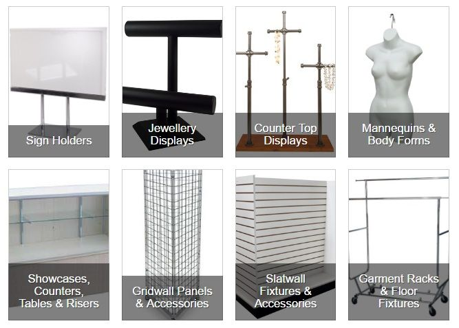 Store Displays and Complete Retail Shop Fitting - http://www.idealdisplays.com/