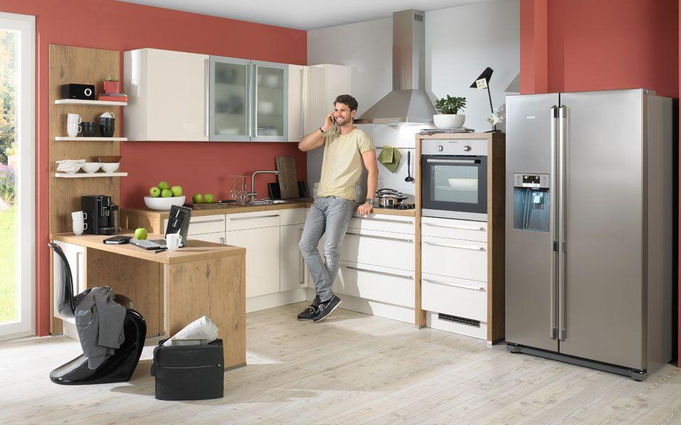Singleküche #Küche #Eckküche www.kueche-co.de | Wohnen | Pinterest ...