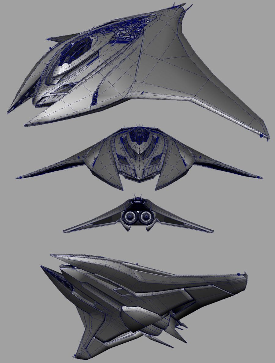 Spaceship Concept on Pinterest | Spaceship Design ...