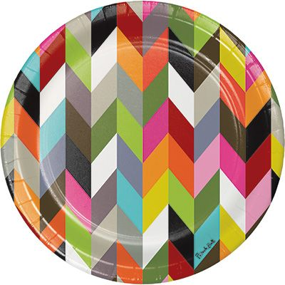 Creative Converting French Bull Ziggy Geometric Printed Paper Dinner Plates Wholesale 322060  sc 1 st  Pinterest & Creative Converting French Bull Ziggy Geometric Printed Paper Dinner ...