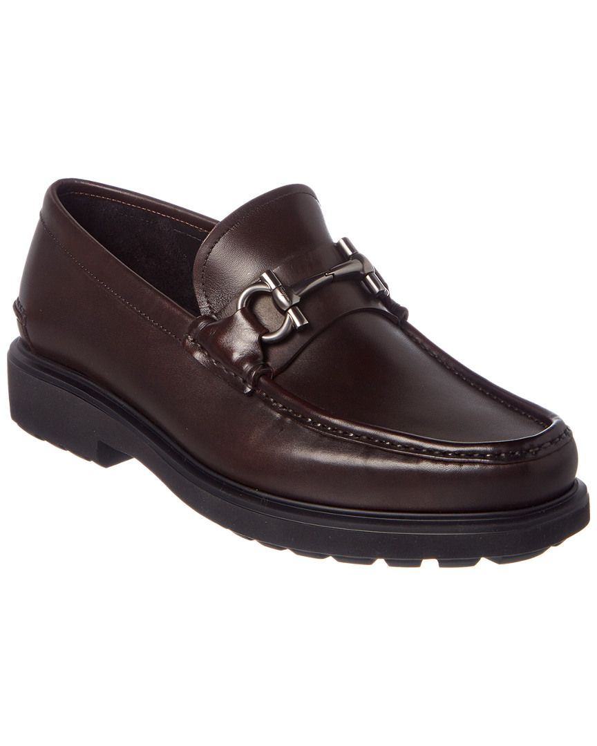 2d36f429f6ad1 SALVATORE FERRAGAMO SALVATORE FERRAGAMO GANCIO BIT LEATHER MOCCASIN.   salvatoreferragamo  shoes