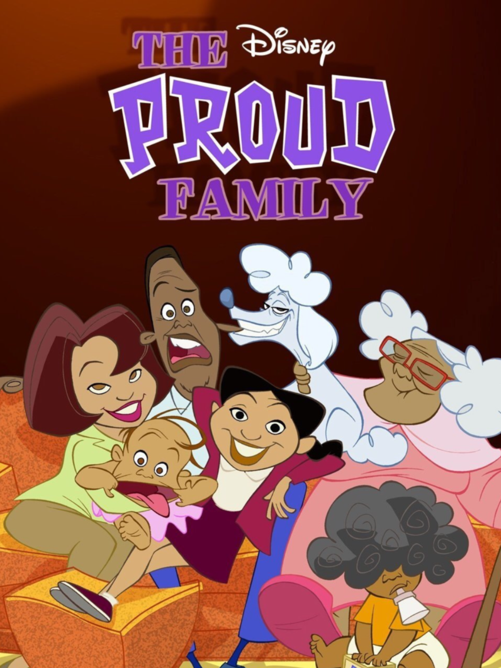 90s Kids In The 2000s Old Kids Shows The Proud Family 90s Cartoons