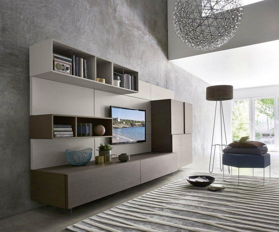 Großer Wohnzimmerschrank ~ Novamobili tv wohnwand about 25 tvs minimal and wand