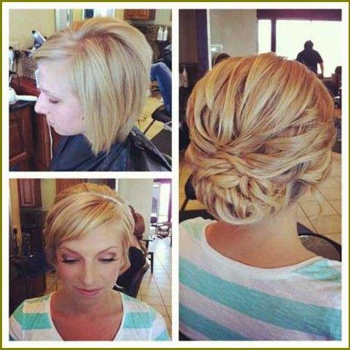 Elegante frisuren fur kurze haare