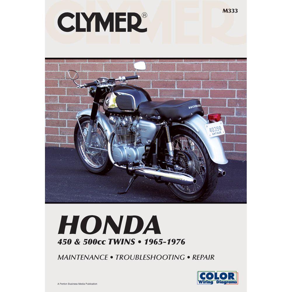 Clymer Honda Cb Cl450 Cb500t 1965 1976 Boat Parts For Less Honda Cb Clymer Honda