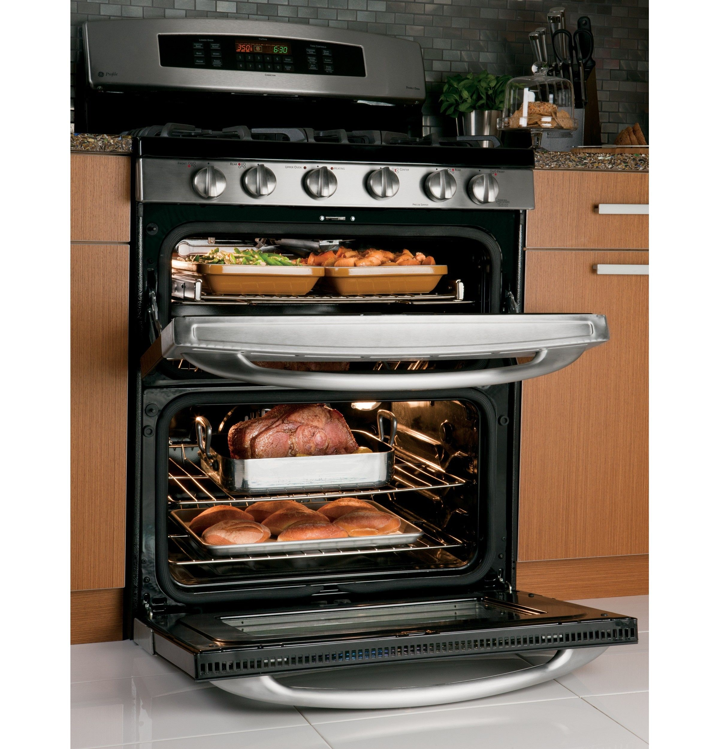Ge pgb950sefss | For the Home | Double oven range, Kitchen tops ...