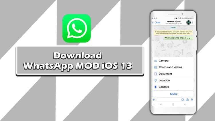 Https Ift Tt 3cgaqrf Download Whatsapp Mod Ios 13 Update V8 25 Terbaru 2020 Java S Tech Cara Membuat Foto Profil Whatsapp Jadi Full Y Ios Aplikasi Komunikasi