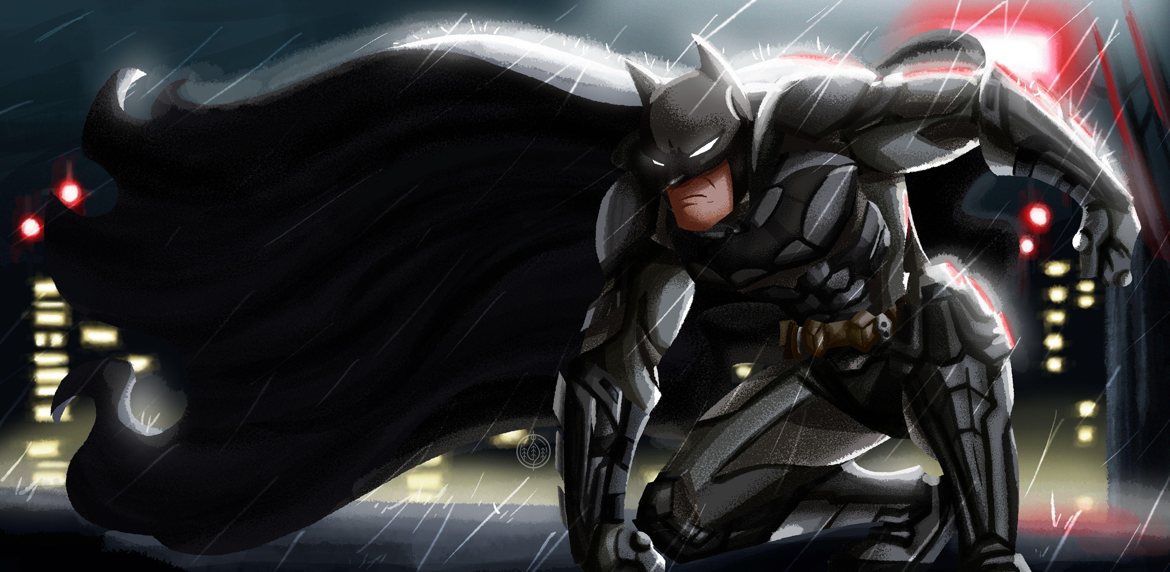 Batman Illustration 4k New Superheroes Wallpapers Hd Wallpapers