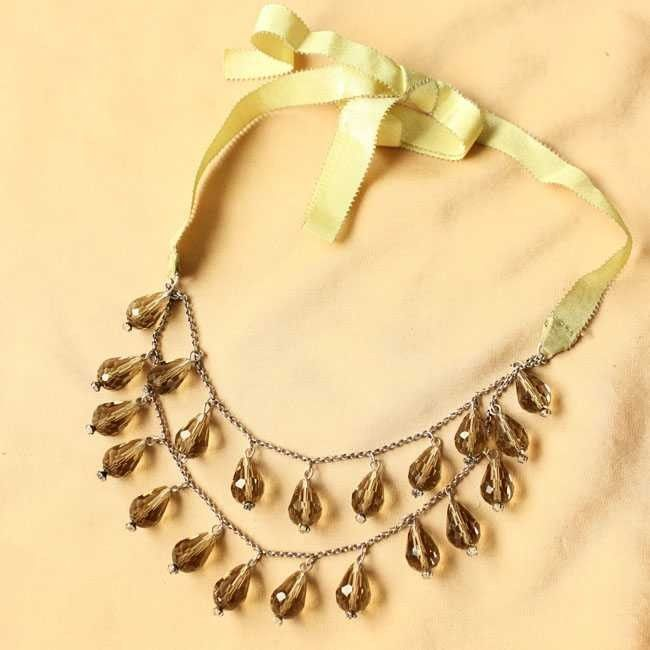 Fashion Multiayer Crystal Rope Necklace DC80N6033 $24.00