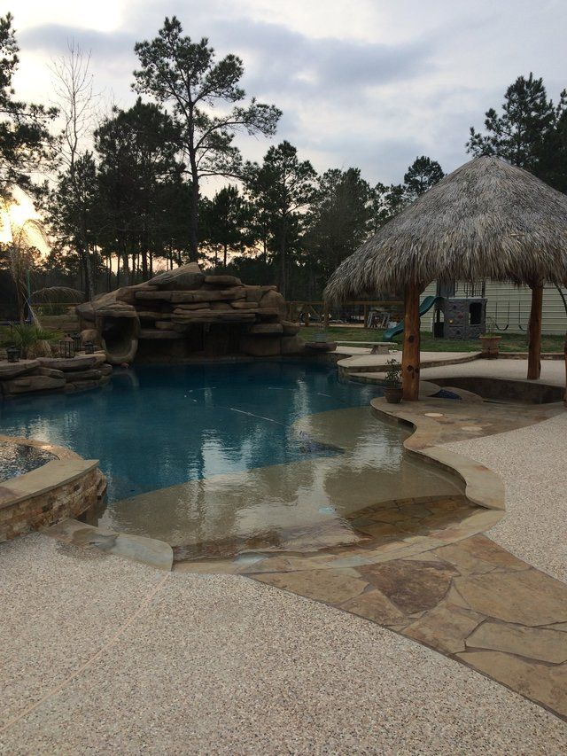 If you're looking for a unique, custom designed pool, you