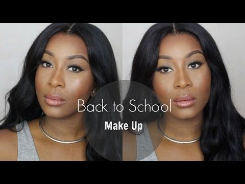 Back to School Make Up. - YouTube