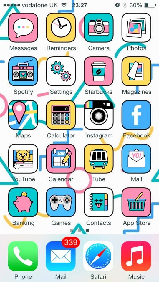 Designclever Danwoodger App Icons Hey Check Out The Range App Icon App Drawings Homescreen Iphone