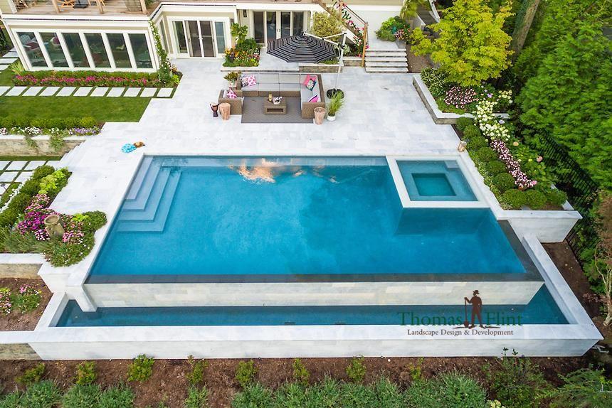 Custom Swimming Pools by Thomas Flint Landscape & Design ...