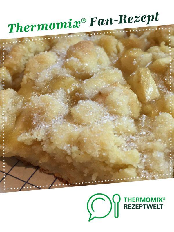 Apfelkuchen vom Blech Familienrezept
