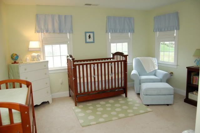 7 Inspiring Kid Room Color Options For Your Little Ones: Benjamin Moore Calming Aloe - Kitchen