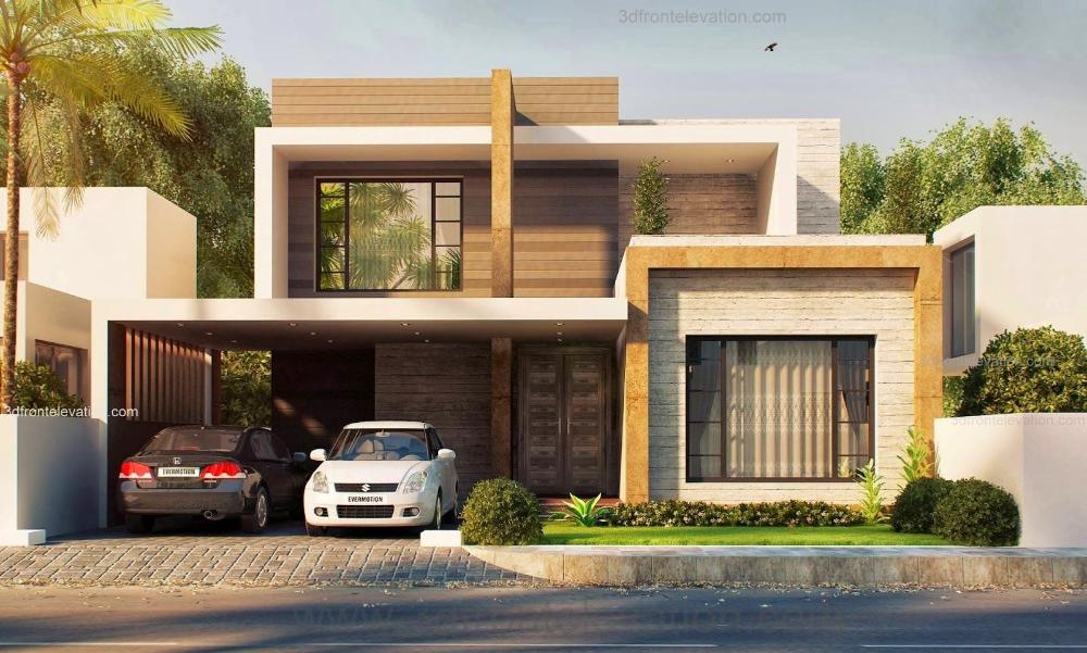 Elegant Latest Modern Houses In 2020 Kerala House Design Modern House Plans Modern House Design
