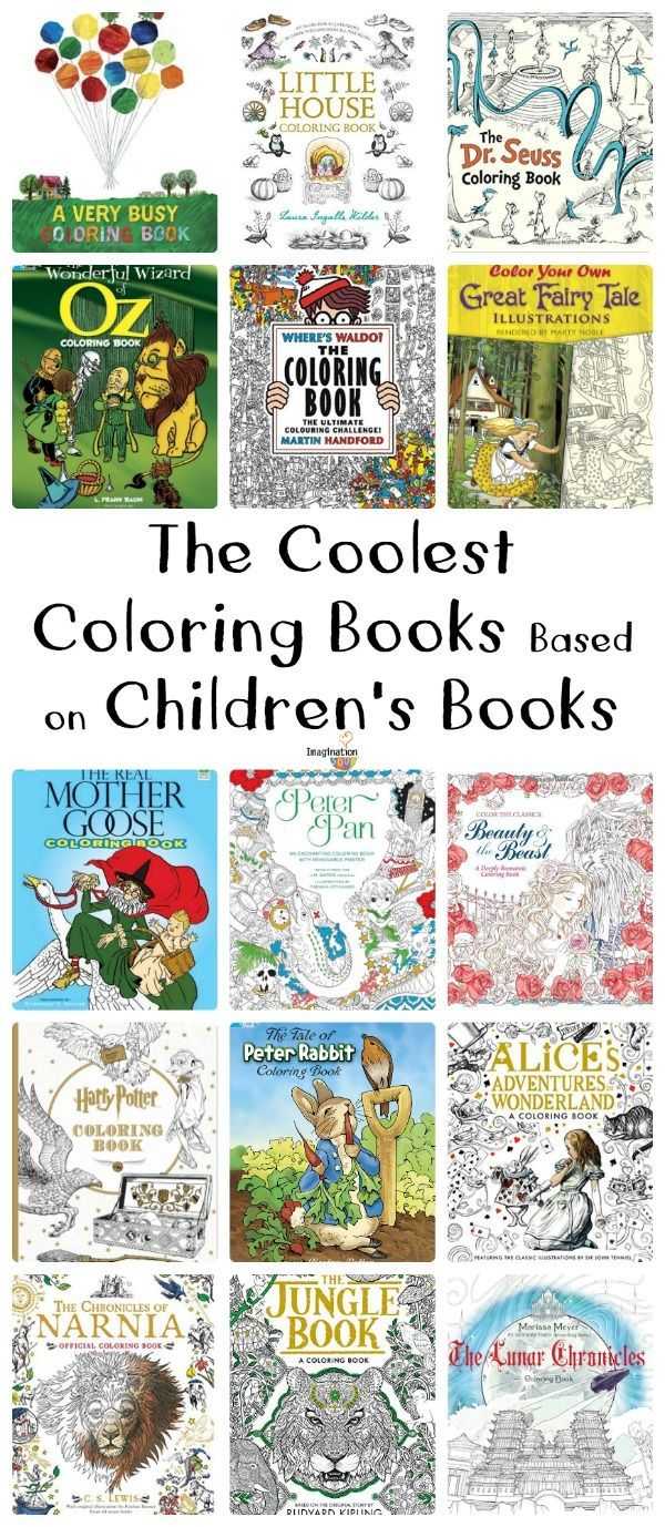 The Coolest Coloring Books Based on Children\'s Books | Ultimate ...