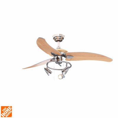 Westinghouse Elite 48 In Brushed Nickel Ceiling Fan 7850500 At The Home Depot Mobile