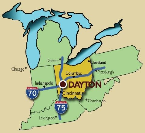 Dayton Ohio The hub of the universe MidWest Warmth Pinterest