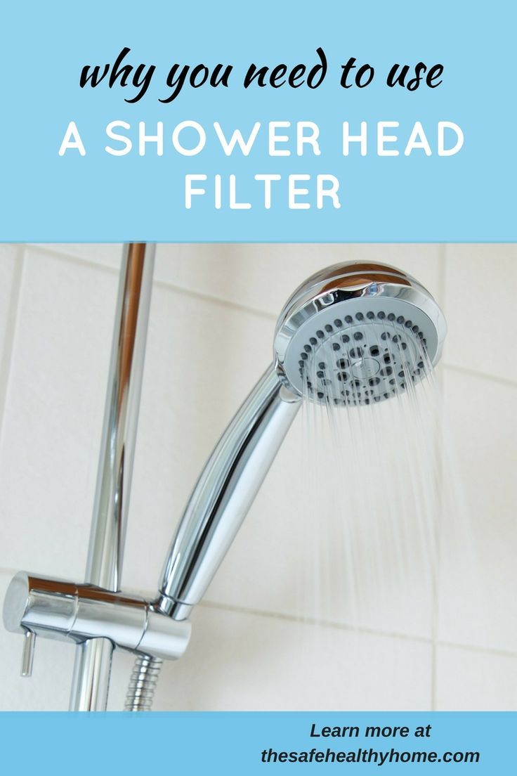 Why You Need to Use a Shower Head Filter | Shower head filter