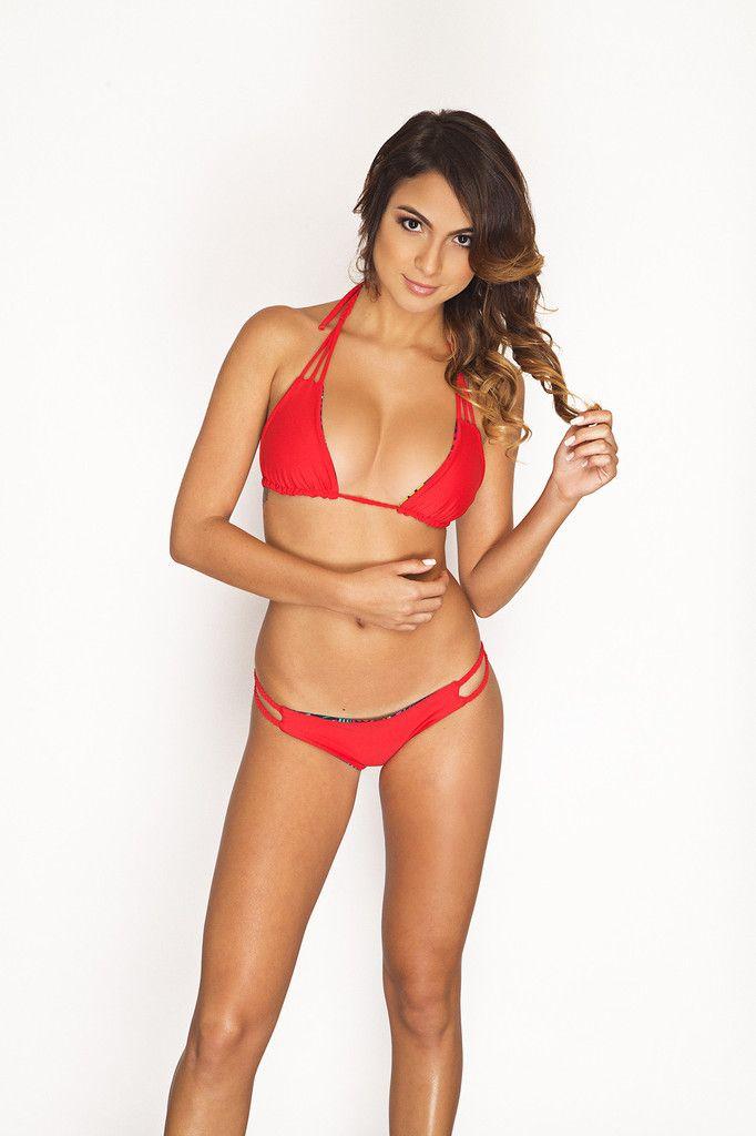 Red Braided Bikini - The Russian | VPX Swimwear