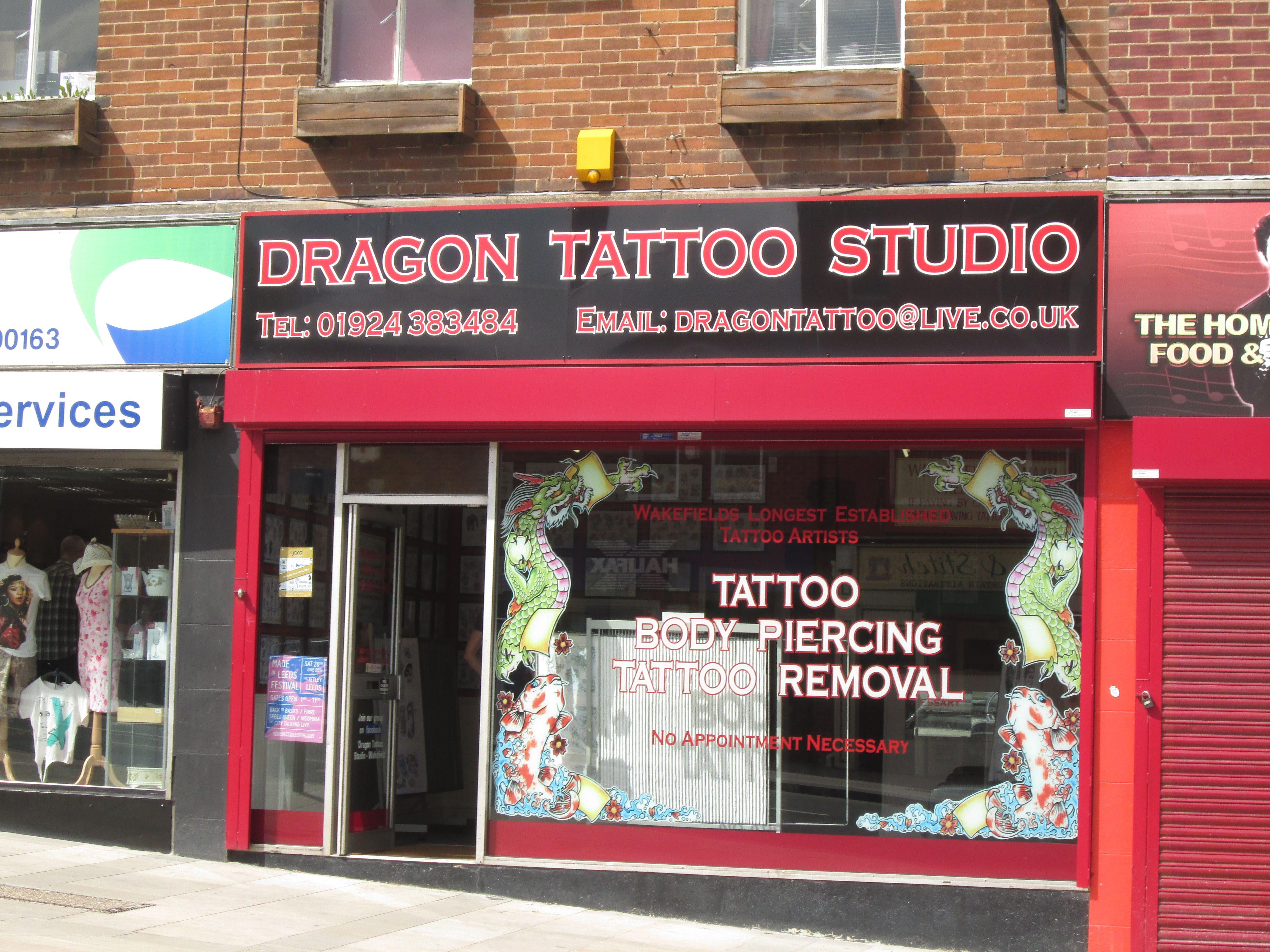Dragon Tattoo Studio Dragon Tattoo Tattoo Studio Tattoos